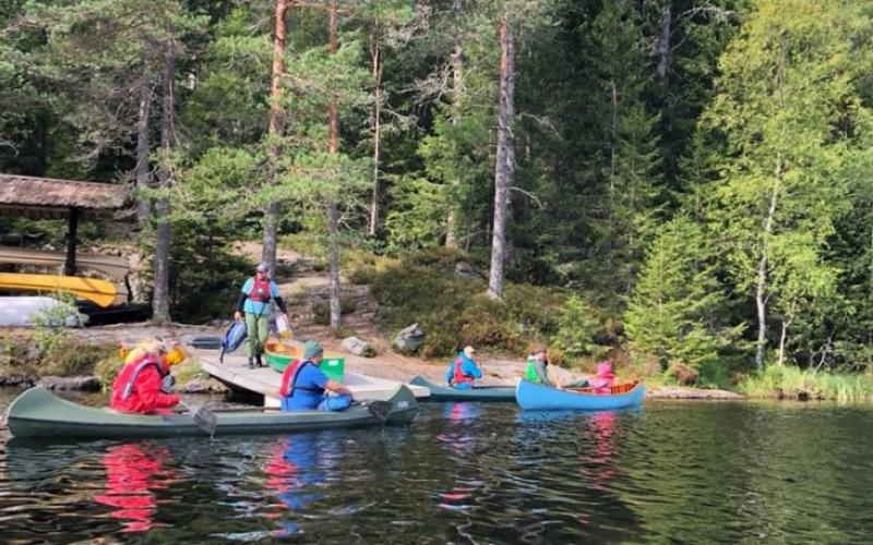 Nettverkssamling kano