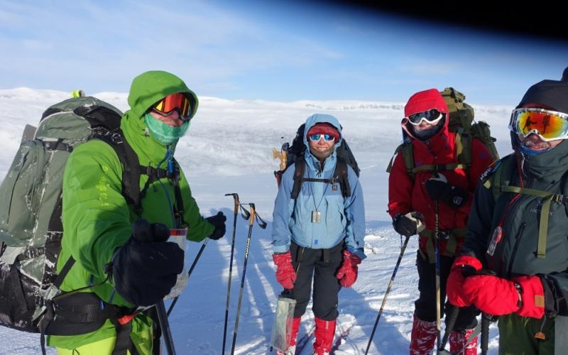 Deltagere på fjellederkurset