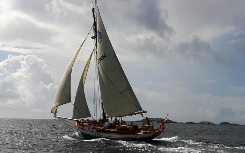 Norges speiderforbunds seilskute Havbraatt