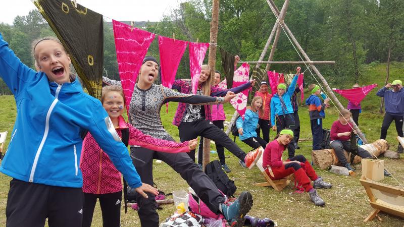 Friluftsskole Oppdal sommeren 2016