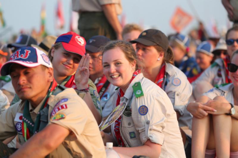 Norsk speider på verdensspeiderleir i Japan